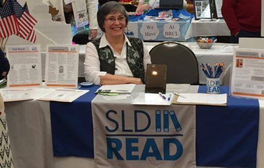Volunteer at SLD Read Table
